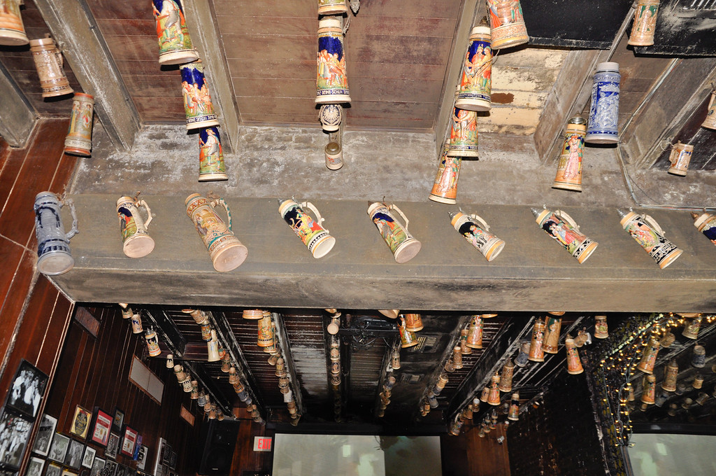 Ceiling at Pat O'Brien Irish Pub