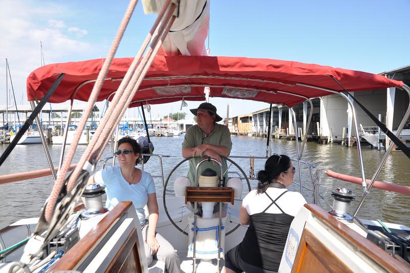 Sailing on Lake Pontchartrain