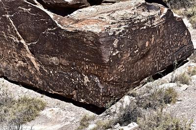 Painted Desert Petroglyphs