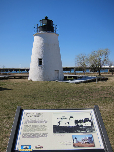 Piney Point Lighthouse - Piney Point, MD