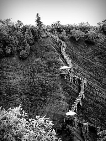 Montmorency Stairs to the Falls