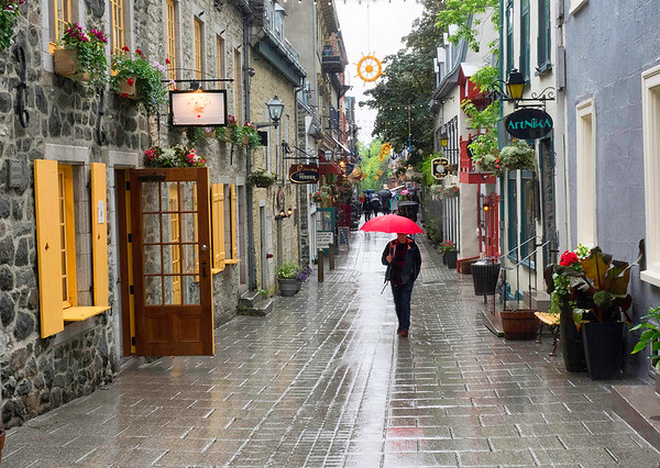 Quebec City Lower Town  No. 1