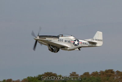 Sarah's P-51 Ride and Old Rhinebeck Aerodrome