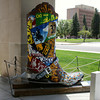 Cheyenne, Wyoming - outside a museum near the State Capital
