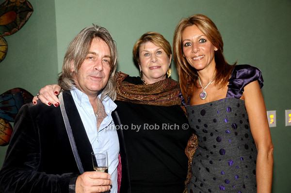 Simon Brown, Reggie Nadelson, Carrie Wicks<br /> photo by Rob Rich © 2009 robwayne1@aol.com 516-676-3939