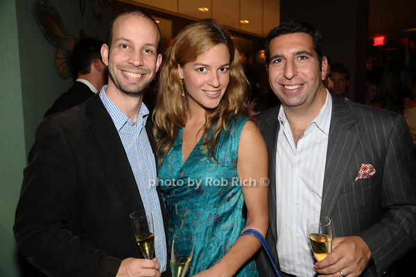 Matt Lee, Danielle Kyrillos, JP Kyrillos<br /> photo by Rob Rich © 2009 robwayne1@aol.com 516-676-3939