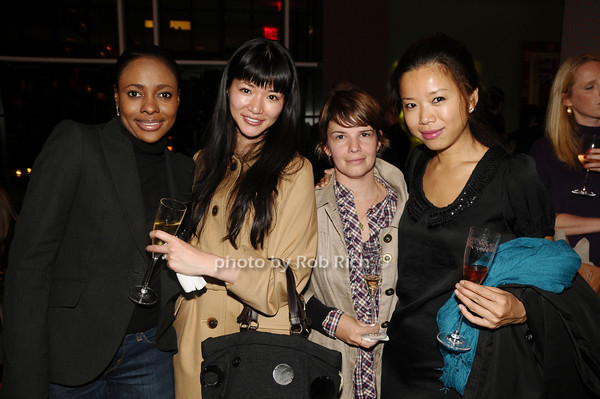 Liana Archer, Akiko Macsuura, Rachel King, Ping Ping<br /> photo by Rob Rich © 2009 robwayne1@aol.com 516-676-3939