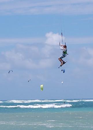 wind surfer maui