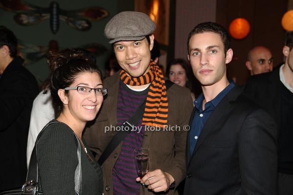 Jenna Amicucci, Eduardo Fabila, Robert Reus<br /> photo by Rob Rich © 2009 robwayne1@aol.com 516-676-3939