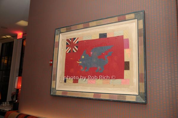 Artwork at the Crosby Street Hotel<br /> photo by Rob Rich © 2009 robwayne1@aol.com 516-676-3939