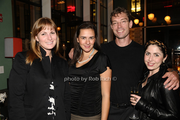 Stef Ledner, Olga Ovodenko, Paul Von Bielbaudo, Meredith Boyle<br /> photo by Rob Rich © 2009 robwayne1@aol.com 516-676-3939