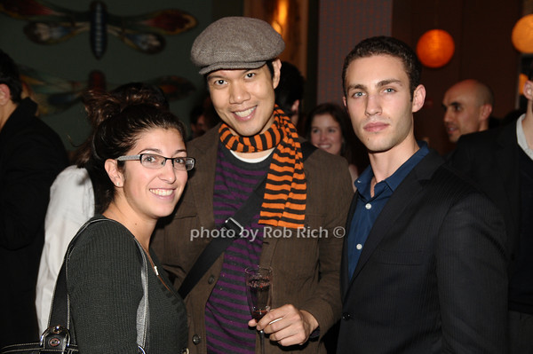 Jenna Amicucci, Eduardo Fabila, Robert Reus<br /> photo by Rob Rich © 2009 robwayne1@aol.com 516-676-3939