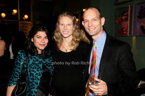 Milou Motamed, Amy Farley, Ted Lee<br /> photo by Rob Rich © 2009 robwayne1@aol.com 516-676-3939