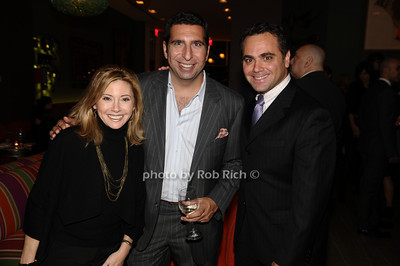 Judy Stein, JP Kyrillos, Jackie Ezon photo by Rob Rich © 2009 robwayne1@aol.com 516-676-3939