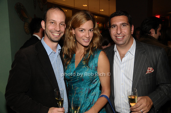 Matt Lee, Danielle Kyrillos, JP Kyrillos<br /> photo by Rob Rich © 2009 robwayne1@aol.com 516-676-3939