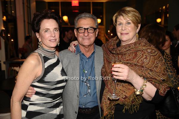 Nancy Novogrod, Adam Tihany , Reggie Nadelson<br /> photo by Rob Rich © 2009 robwayne1@aol.com 516-676-3939