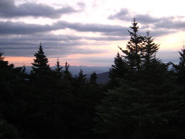 Daybreak at Campsite