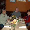 Helen Dostie, '59, Skip Brown, and Betty Ann Beaudoin Brown, 61