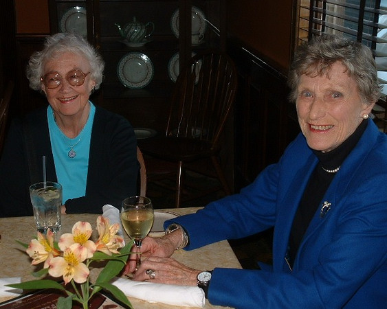 Caroline Cobb, '52, Mary Swasey Nutter, '52