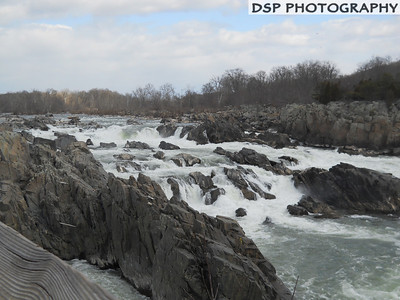 Great Falls in Washington DC. My friends and I used to come here to go Kayaking when we were younger and more reckless. It's beautiful to look at and listen too.