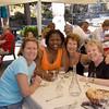 Couple of years ago, Ina, Debbie, Mona and I had lunch at Tre Torri! Plainly, you can see how happy we are!<br /> Un paio di anni fa, sono andata a pranzo dalle Tre Torri con le mie care amiche. Vedete quanto siamo felici!