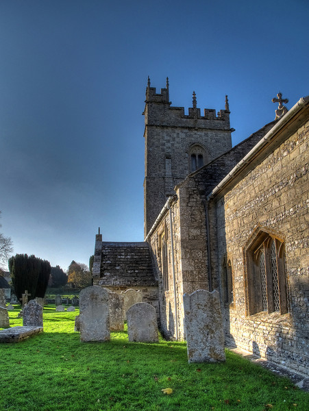 """St. Laurence's Church, Affpuddle.<br /> One of Simon Jenkins' """"1,000 Best Churches"""" this 13th Century church dedicated to St. Laurence stands in an idyllic situation on the banks of the River Piddle in the Parish of Affpuddle and lies in the Benefice of Bere Regis and Affpuddle with Turnerspuddle."""