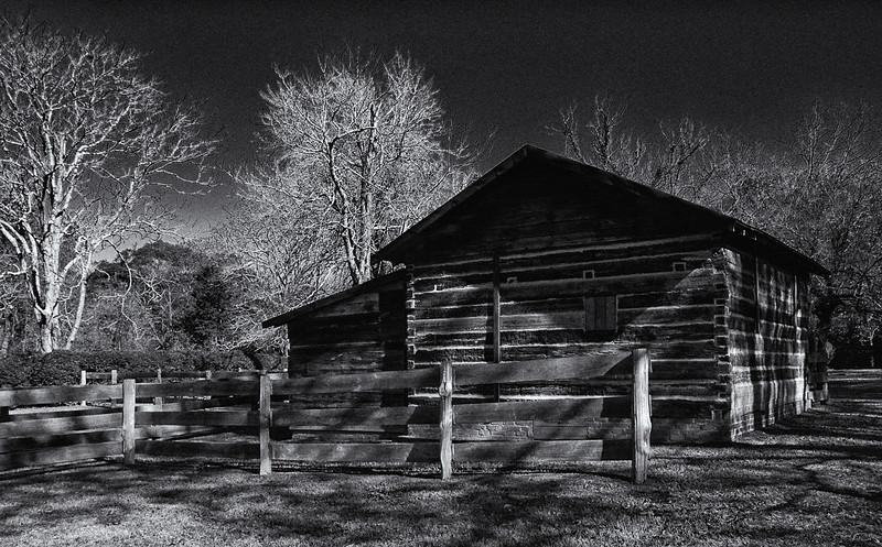 William Faulkner's Barn<br /> Rowan Oak Estate<br /> Oxford, Mississippi