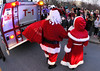 santa and mrs and the crowd A