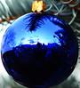 ornament blue reflection