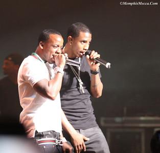Yo Gotti (L) & Trey Songz (R)