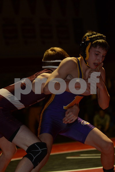 2014 Tri Rivers Conference Championships<br /> 106<br /> 1st Place Match - Brock Henderson (North Linn) 31-4 won by decision over Ben Moyer (Alburnett) 33-9 (Dec 3-1)