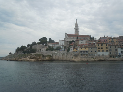 Our destination was a seaside town in Croatia called Rovinj.  It has beautiful medieval architecture but is also fast becoming a beach vacation destination for Europeans.