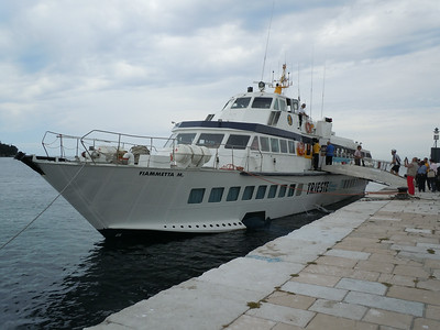 On Saturday, I hopped on a high speed ferry and took a day trip to Croatia.