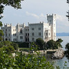A beautiful castle from the days when Trieste was part of the Hapsburg empire.