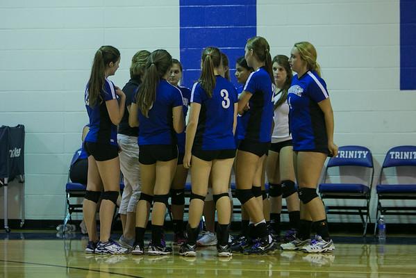 Trinity Volleyball - Aug 2014