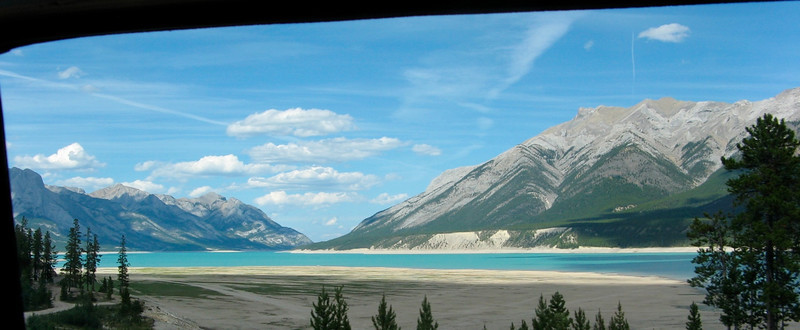 Abraham Lake, AB, Highway 11