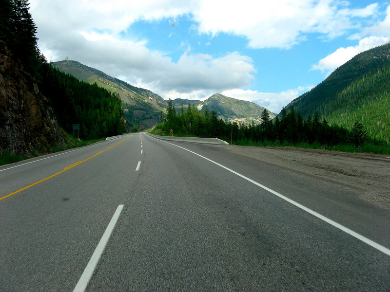 Climb to Kootenay Pass