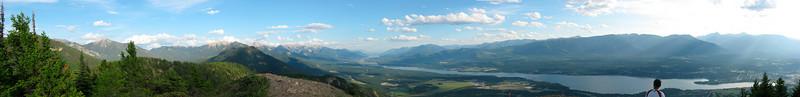 Mt Swansi pan