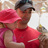 Steve & Audrey get up close and personal with a beautiful bird. Take 2