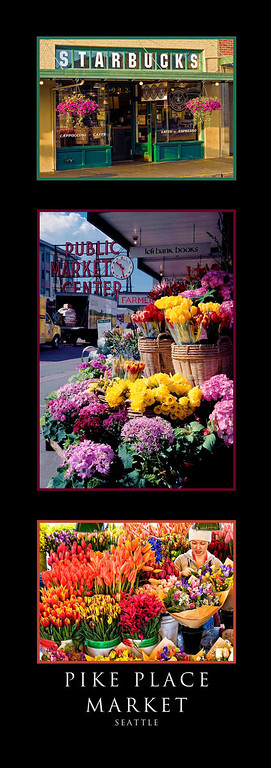Triptychs-Pike Place Market