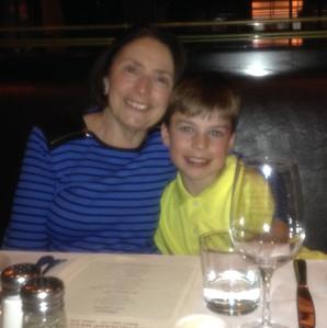 Tristan's 10th birthday (w.grandparents) 2014