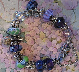 Dreaming of Lilac Time bracelet.