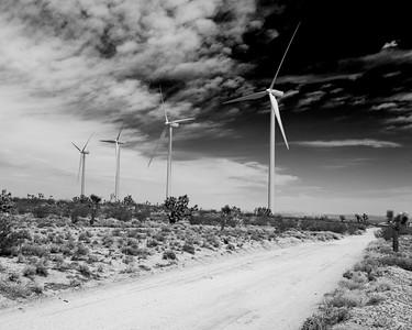 Trona Pinnacles and Mojave, CA