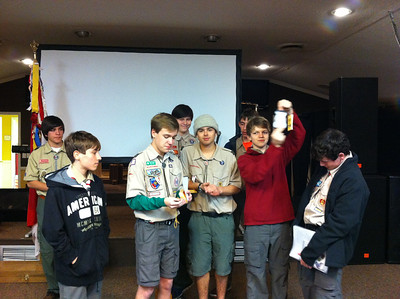 Troop 69 Meeting Troop Challenge presentation