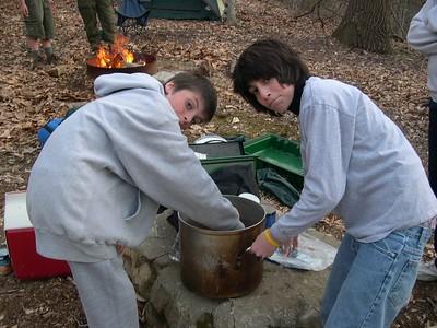 Troop Cookout - 2005-04-16