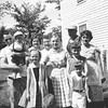 Back: Duane Held (and Keith), Sophie Truempi, Elinore( Ma) Held, Joe Von Arx and Vernie Von Arx, <br /> Front: Two Held girls, Lisa Hall and Lonnie Hall