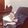 1962  - Dennis Truempi at Joe and Vernie Von Arx's house.