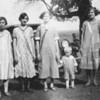 Sophie (far right) with some of the Hoscheits???  Circa 1930