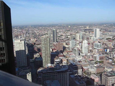 Another look around the perimeter of the 49th floor.   Video by Jim Horton