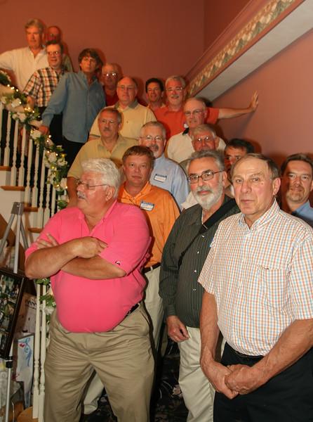 Larry, Dave, Harold, Ron, Tom, Joe, Ed, Mike, Steve, Paul K, Micki, Doug,  Rick, Jerry, Joel, Lee,Allen, Paul R